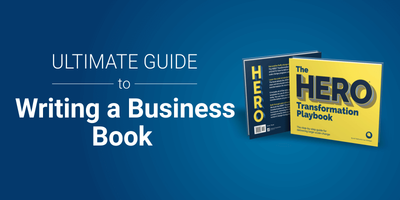 The ultimate guide to writing a business book